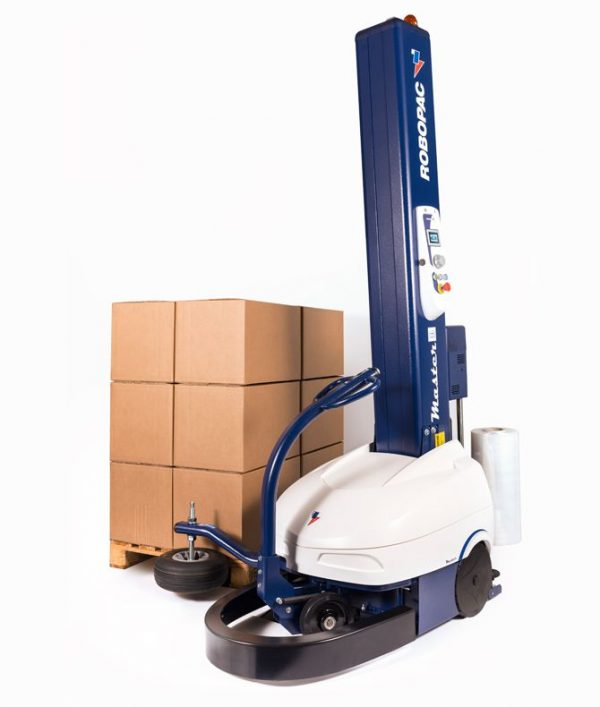 Robot Quấn Màng Pallet Thùng Carton